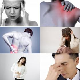 頭痛 肩こり 腰痛 疲れ
